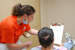 seven dental assistants,